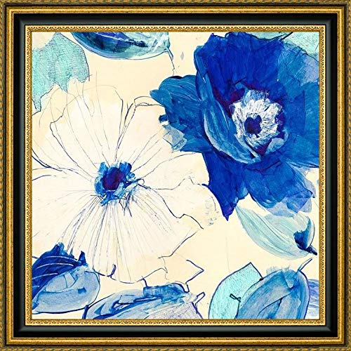 - Toile Fleurs I by Kelly Parr - 19.25