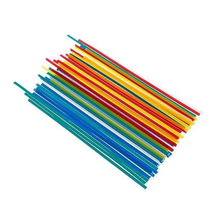 JunYe - 50 Barras de Soldadura de plástico ABS/PP/PVC/PE para ...