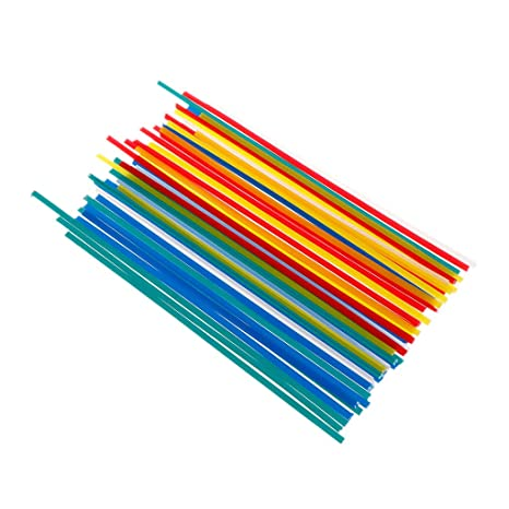 JunYe - 50 Barras de Soldadura de plástico ABS/PP/PVC/PE para
