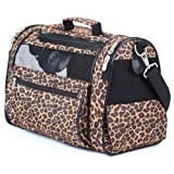 Sherpa 56230 Cat Tote Pet Carrier Leopard Print