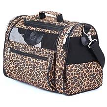 Sherpa 56230 Cat Tote Pet Carrier, Leopard Print