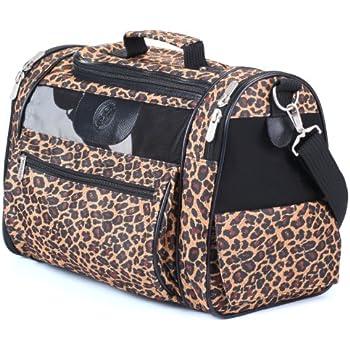 Amazon Com Sherpa Cat Tote Pet Carrier Leopard Print