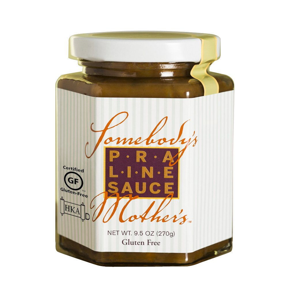 2 Pack Somebody's Mother's Praline Sauce (9.5 Oz Each) by Somebody's Mother's Chocolate Sauce