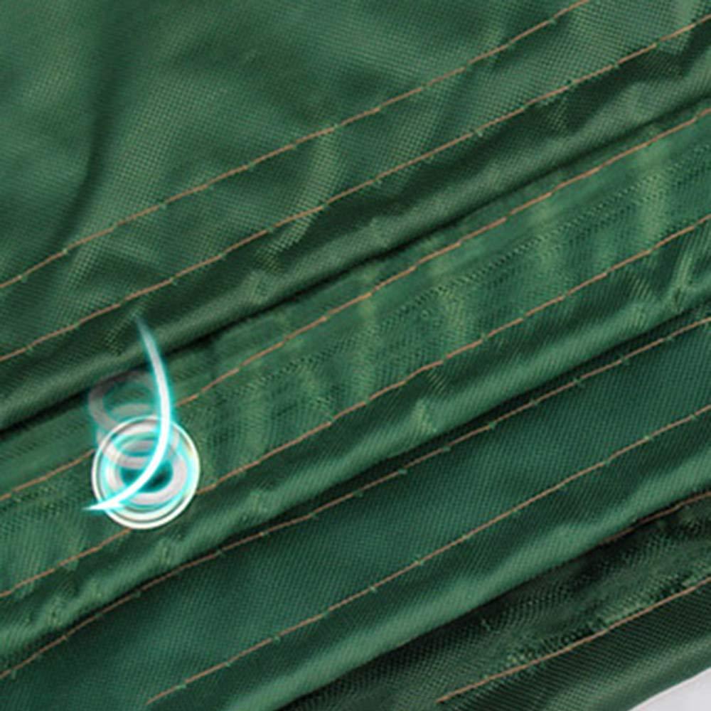 Zhihui Zeltplanen ZZHF pengbu Tarps, leichte Outdoor-Plane 5m X X X 7m Mehrzweck wasserdicht verstärkt Ripstop mit Knopfloch grün (größe   4m6m) B07K2TMKMH Zeltplanen Ausreichende Versorgung 252a8d