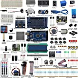arduino mega starter kit - UCTRONICS Mega 2560 Complete Ultimate Starter Kit for Arduino w/ TUTORIAL in TF Card, MEGA 2560 Development Board, LCD1602, Servo, Stepper Motor, Joystick, 21 keys Remote Controller, PIR Motion Sensor