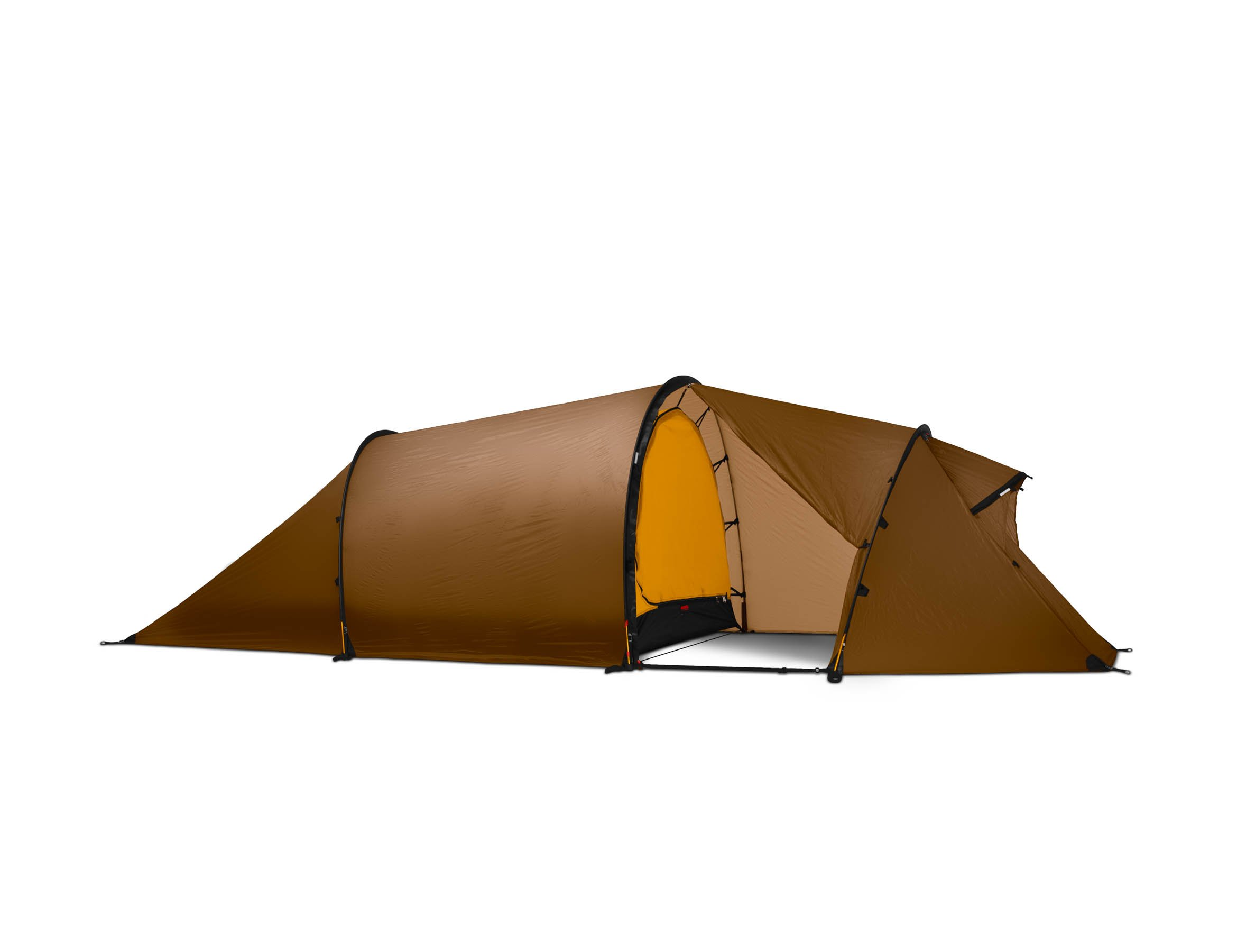Hilleberg Nallo 3 GT Mountaineering Tent, Sand-Colored