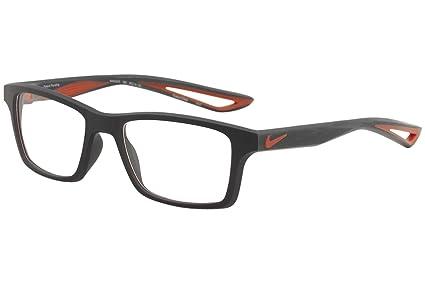 56a29b834e Amazon.com  Eyeglasses NIKE 4679 408 SQUADRON BLUE MAX ORANGE ...