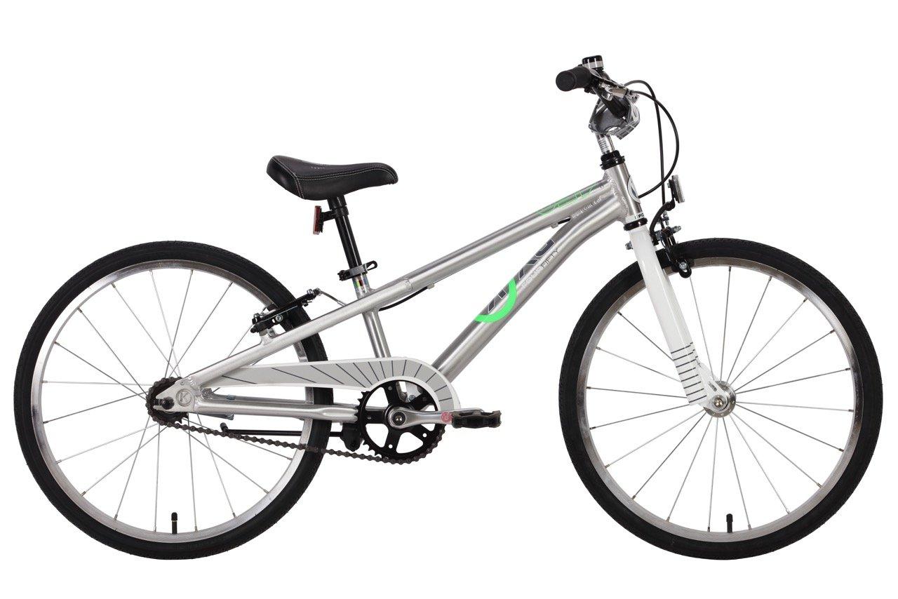 BYK Bikes e450 Kids Bike B0791B77WP Polished Alloy Polished Alloy