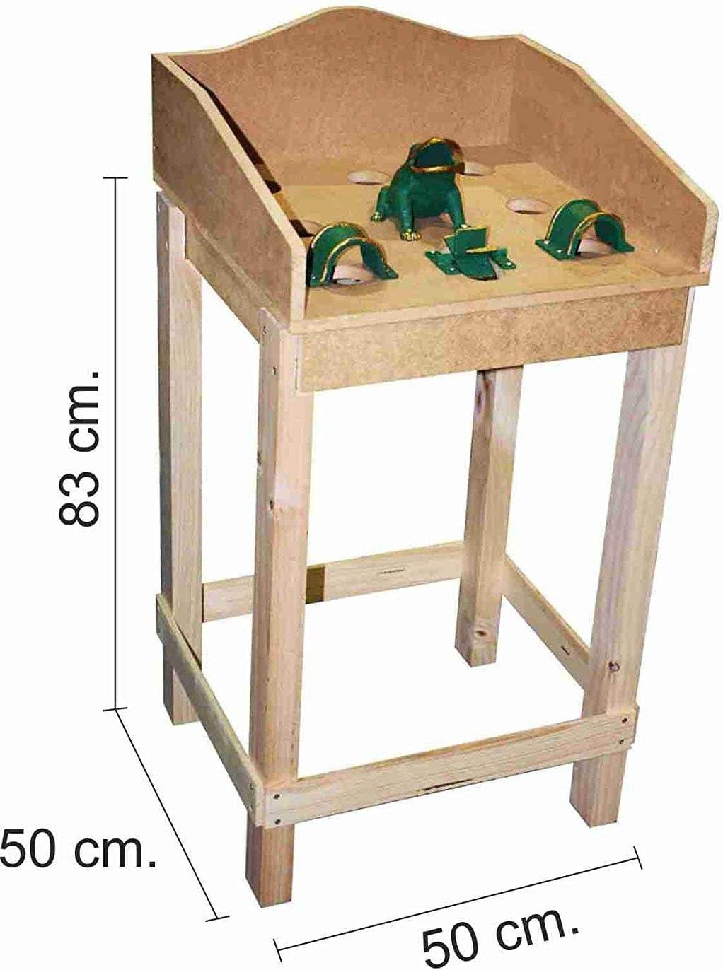 Medidas juego de la rana