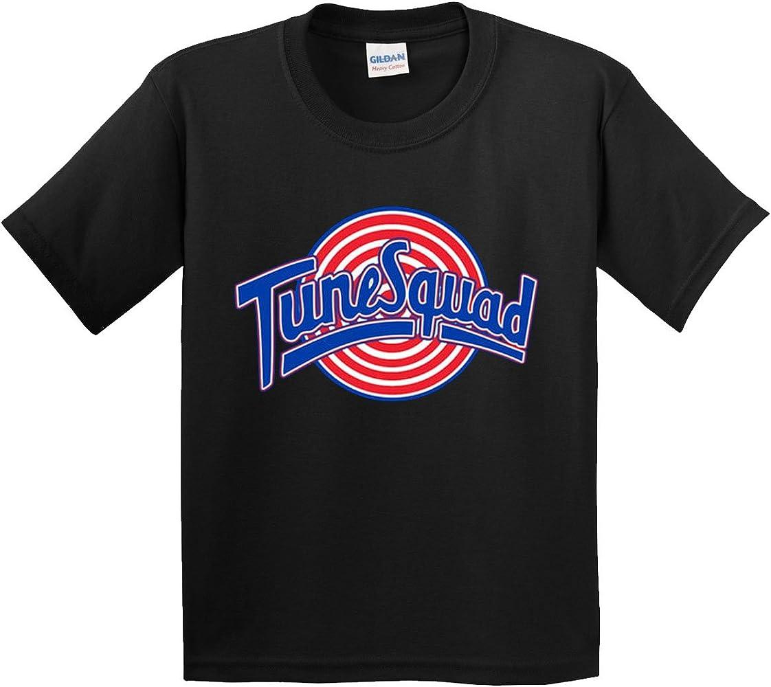 3f2e6937bf16 Amazon.com  New Way 487 - Youth T-Shirt Tune Squad Space Jam Basketball  Team Small Black  Clothing
