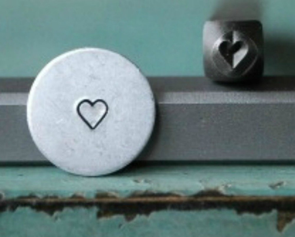 Brand New Supply Guy 3mm Small Heart Metal Punch Design Stamp CH-78