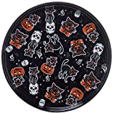 Sourpuss Cat Platter Black
