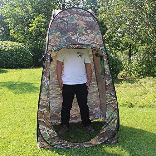 Draagbare pop-up tent, kleedkamer privacy onderdak, voor buiten kamperen vissen strand douche toilet, met draagtas met ritssluiting, 120 * 120 * 195cm