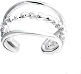 FIVE-D Ohrringe Ohrklemme Silberkugel 925 Sterling Silber in Geschenkverpackung