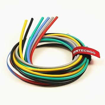 Amazon.com: BNTECHGO 12 Gauge Silicone Wire Kit Ultra Flexible 7 ...
