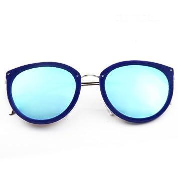 wkaijc Hombres y Mujeres Alta Calidad gafas de sol de peluche Fronteras gris hormigas brillante reflectante