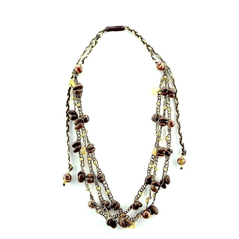 Unique Copper Necklace Present Teens Coffee Bean Necklace Bean Jewelry Coffee Necklace Electroformed Jewelry Coffee Bean Jewelry