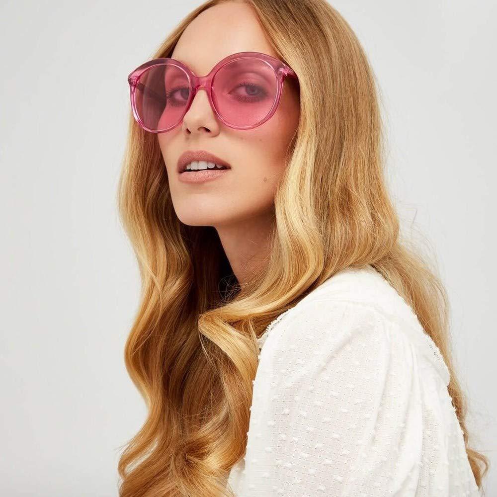 PENGY Women Man Fashion Vintage Round Frame Sunglasses Eyewear Retro Unisex Eyewear Irregular Shape