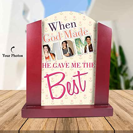 970835a2c Buy HuppmeTM Personalized Best Mom Award Frame for Mothers Day ...