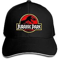 Yhsuk Jurassic Park Sandwich Peaked Hat/Cap Black