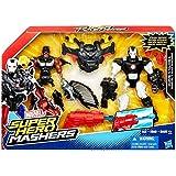 "Marvel Super Hero Mashers Battle Mash Pack Falcon & War Machine 6"" Action Fig..."