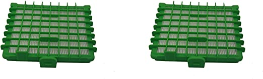 Green Label Kit de 2 Filtros HEPA para Aspiradoras Rowenta ...