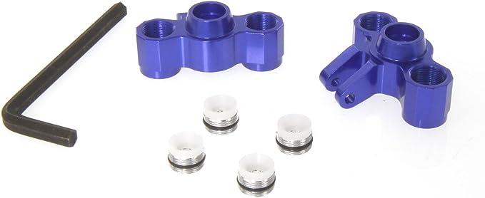 Grey by Atomik Traxxas E-Revo 1:16 Alloy Wheel Hex Adaptor Replaces TRX 7154