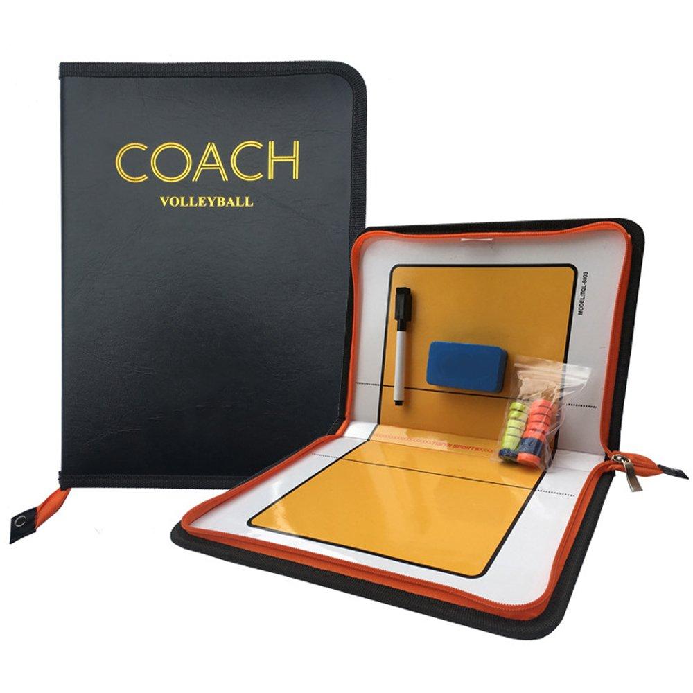 Firelong Volleyball coaching Board Tactic Strategy Training Aids Equipment - Zipper Closure