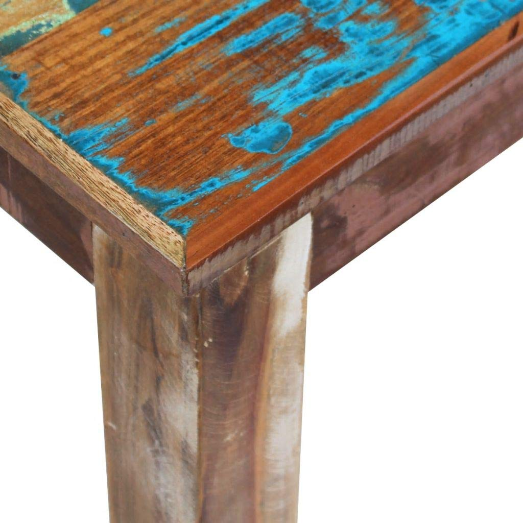 mewmewcat Upgraded Handmade Solid Reclaimed Wood Bench Dining Seats, Home Seat Furniture Hall 63'' 63''x 13.8''x18.1'' by mewmewcat (Image #4)