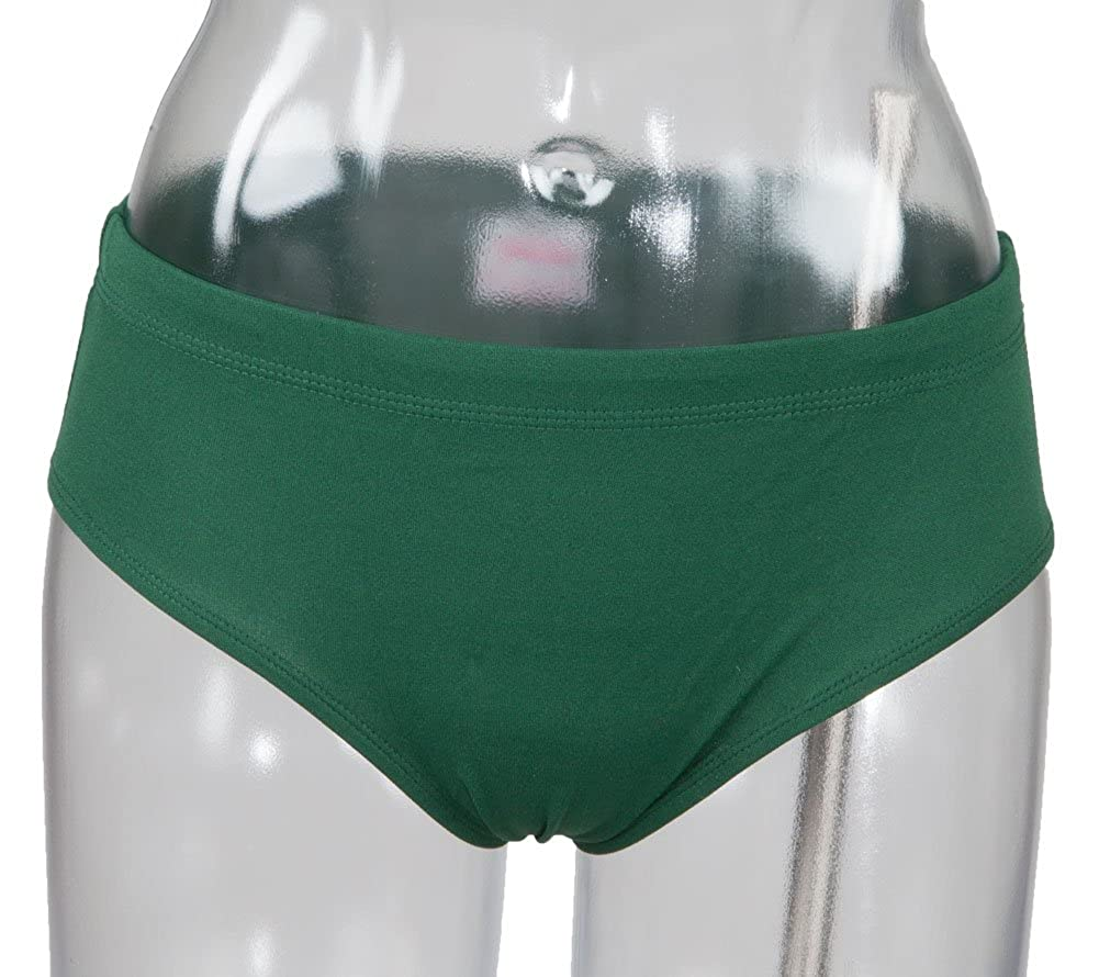 Low Rise Brief Youth Dark Green