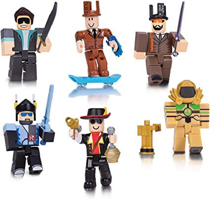 Roblox Champions Of Roblox Action Figure 6 Pack Brand New Toys Amazon Com Roblox Action Collection Legends Of Roblox Six Figure Pack Includes Exclusive Virtual Item Toys Games