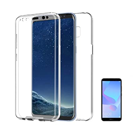 PLANETMOVIL [ Compatible con Huawei Y5 2018 ] Funda Carcasa Doble ...