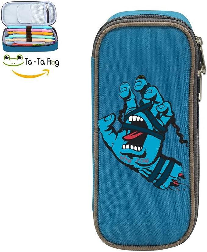Estuche escolar personalizado para niños Santa Cruz con bolsa para bolígrafos para niñas: Amazon.es: Oficina y papelería