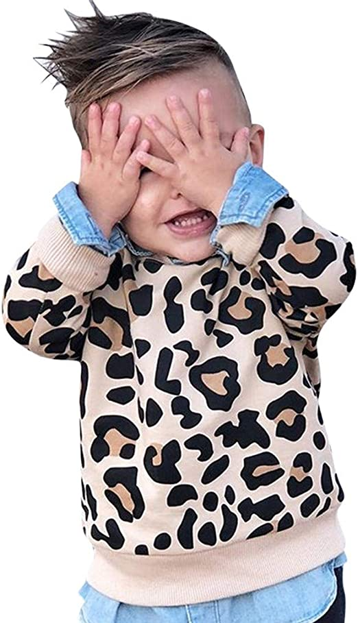 1pc Toddler Kids baby girls tops T shirt pullover kid girl top outerwear sweater