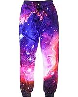 Uideazone Unisex 3D Digital Print Graphric Sport Jogger Pants Casual Sweatpants