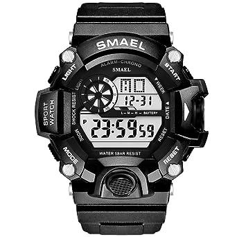 Amazon.com: Reloj digital, reloj deportivo para hombre ...