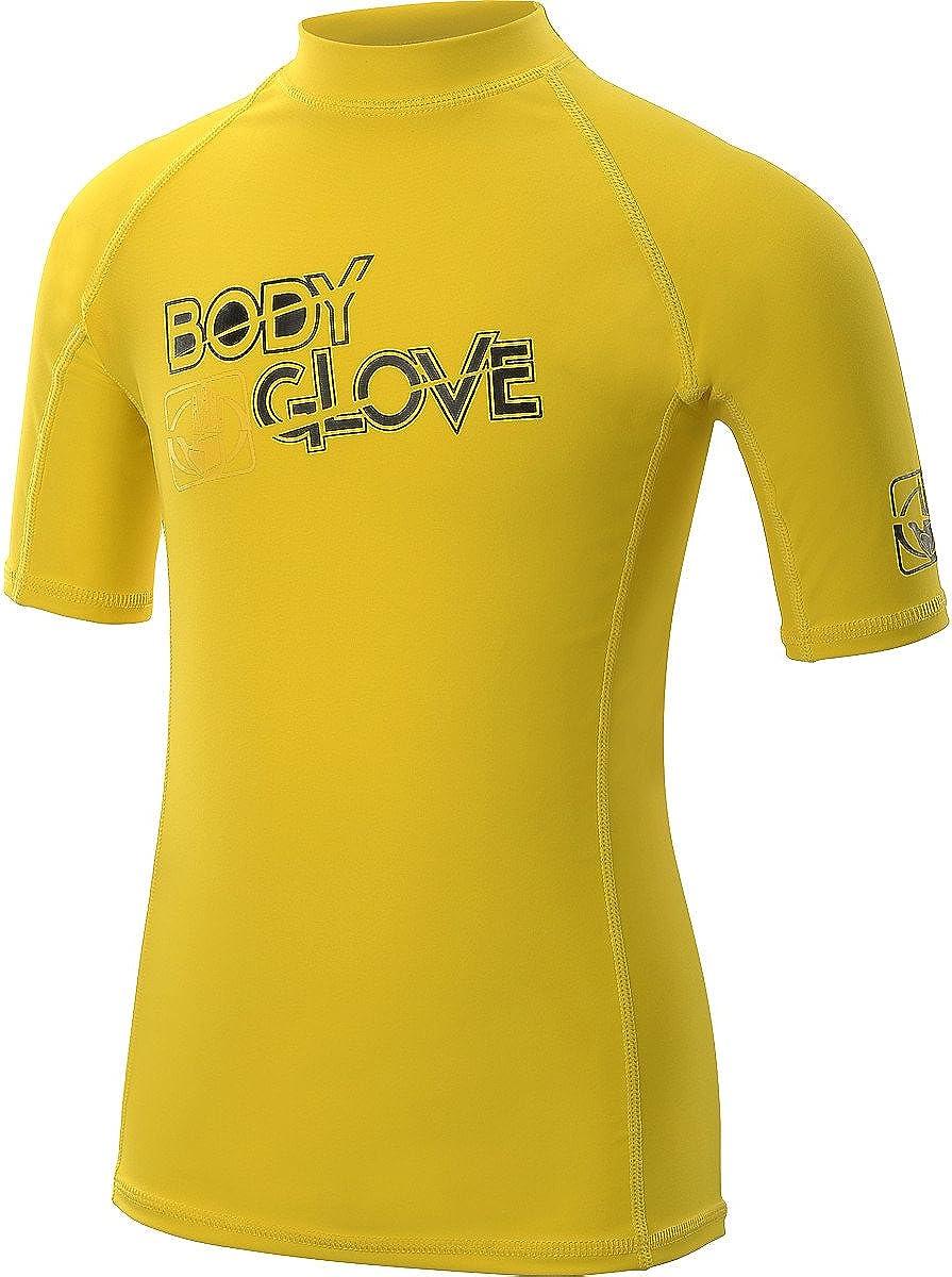 Body Glove s//a Fitted Boys Basic Rashguards