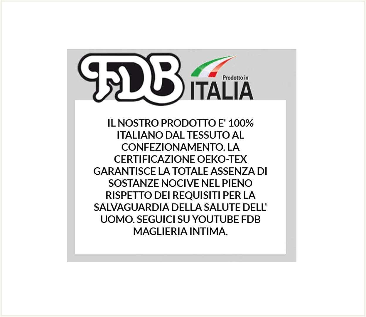 Leo Corsetteria Canottiera Maglia Intima Donna Spalla Larga Pizzo macam/è Cotone.
