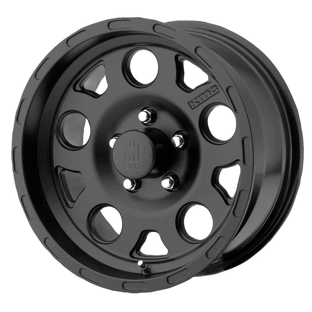 15x9//5x139.7mm, -12mm offset XD Series by KMC Wheels XD122 Enduro Matte Black Wheel