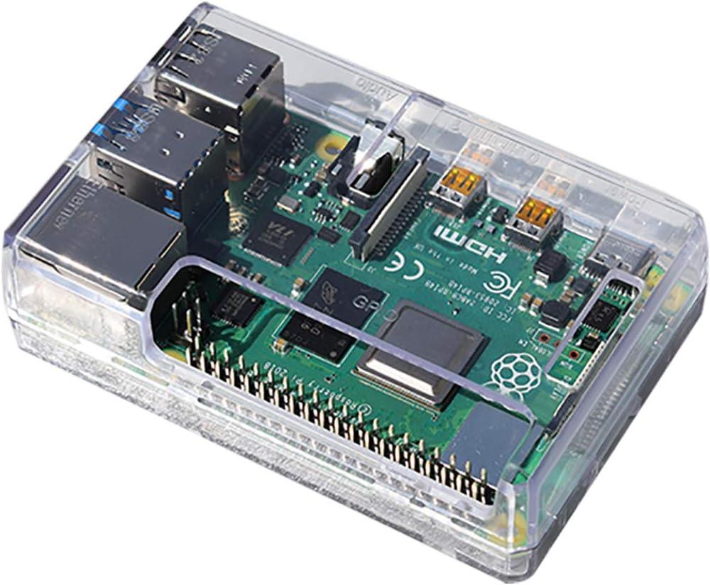 sb Components Raspberry Pi 4 Model B Carcasa para Raspberry Pi