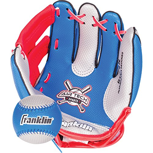Franklin Sports Air Tech Soft Foam Baseball Glove and Ball Set – Special Edition image