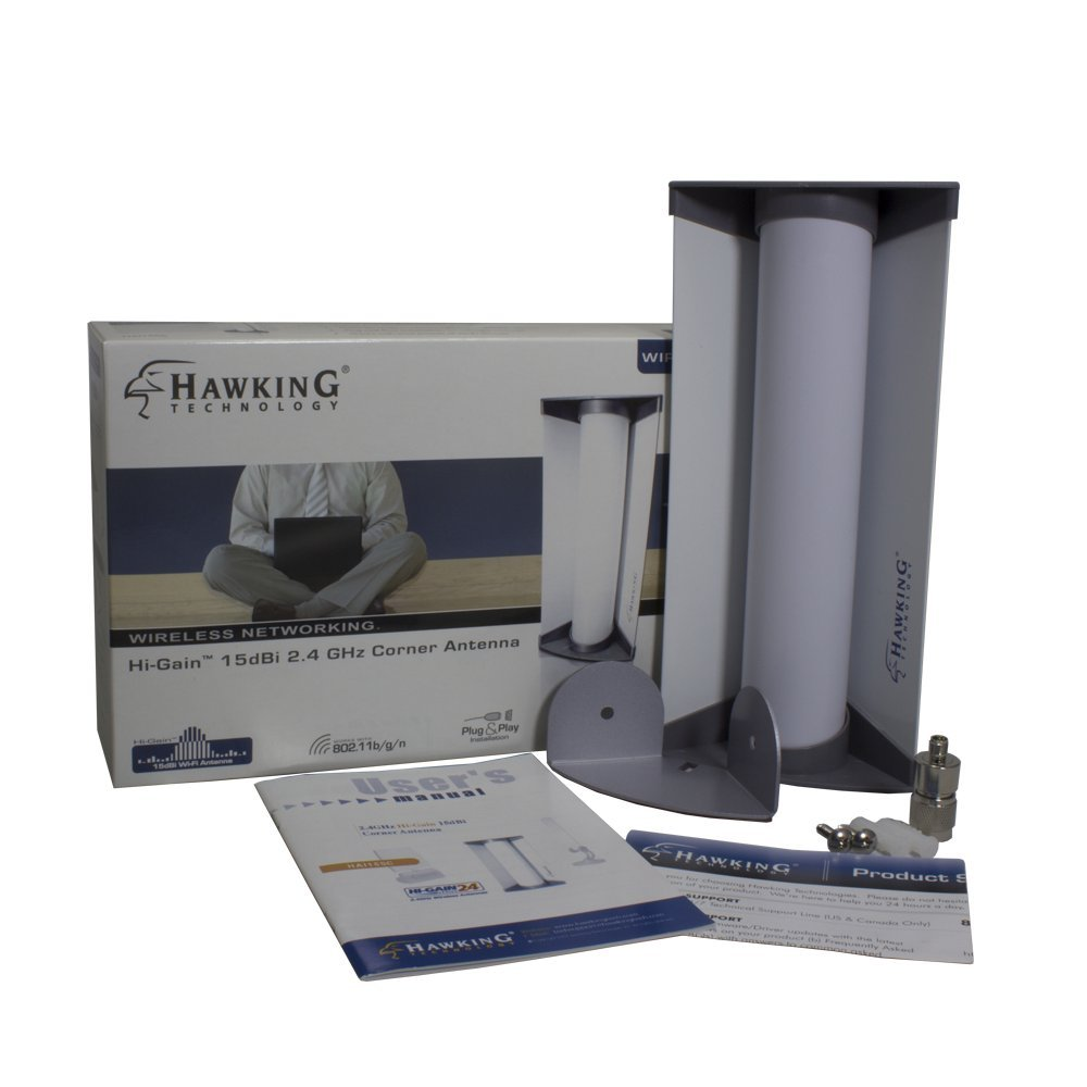 Hawking Technology Hi-Gain Directional Corner indoor 15dBi Antenna (HAI15SC)