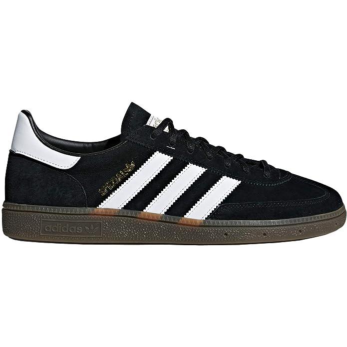 Adidas Spezial Sneakers Handball Schwarz mit weißen Streifen