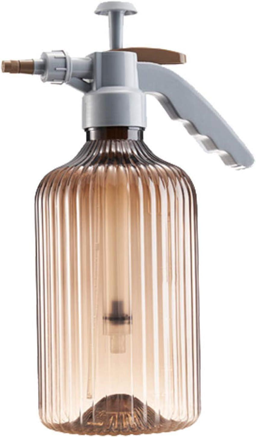 Botella De Spray Presurizada Multiusos De 68 Oz con Boquilla Ajustable De Espuma De Niebla Regadera Ajustable,Marrón