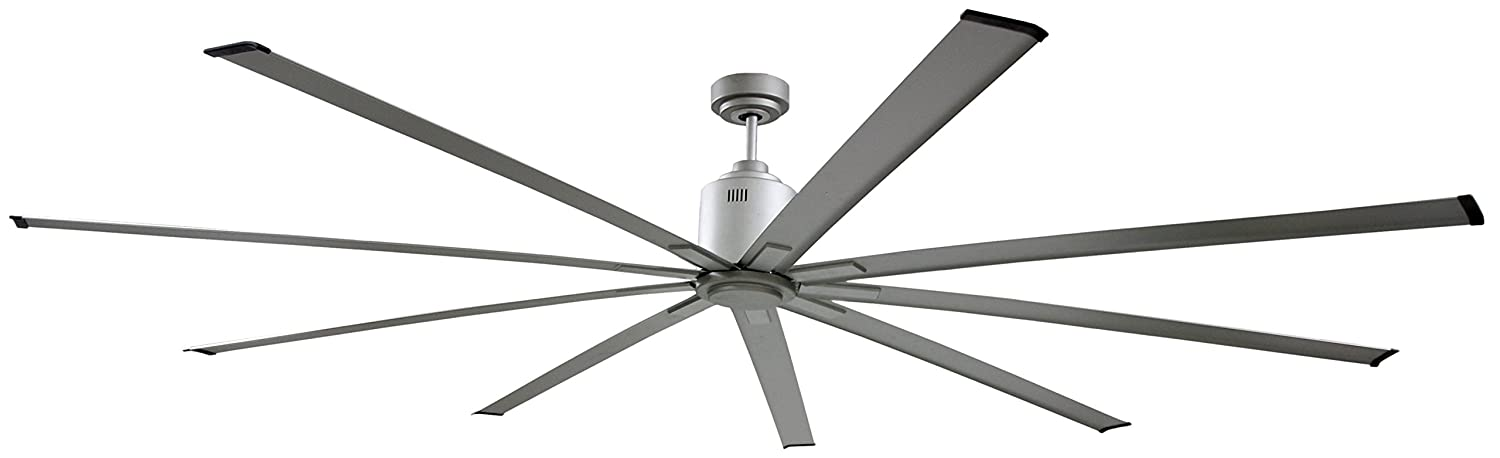 Amazon big air icf96ups industrial ceiling fan 96 inch silver amazon big air icf96ups industrial ceiling fan 96 inch silver home improvement aloadofball Gallery