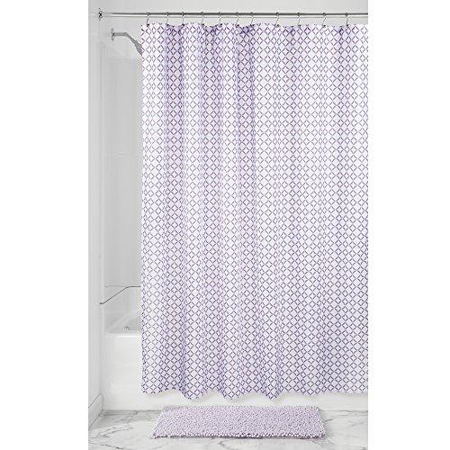 InterDesign Maddie Fabric Shower Curtain, 72
