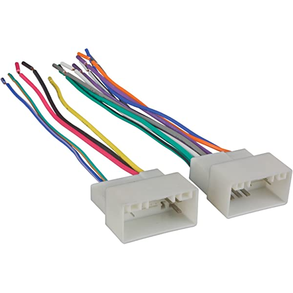 Amazon.com: Metra 70-7304 Wiring Harness for Select 2010-Up ... on