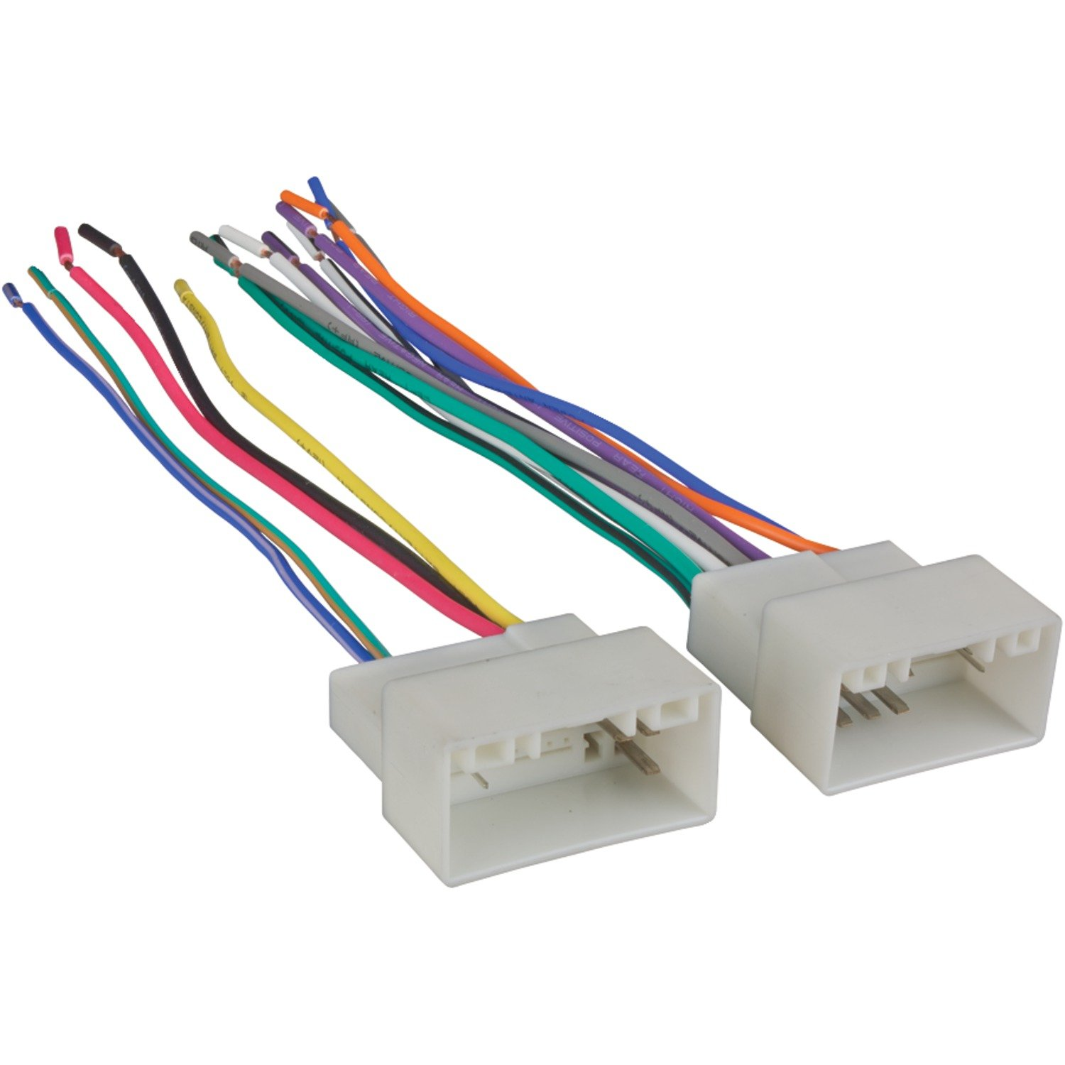 61Pem3k6tEL._SL1500_ amazon com metra 70 7304 wiring harness for select 2010 up kia kia wiring harness at metegol.co