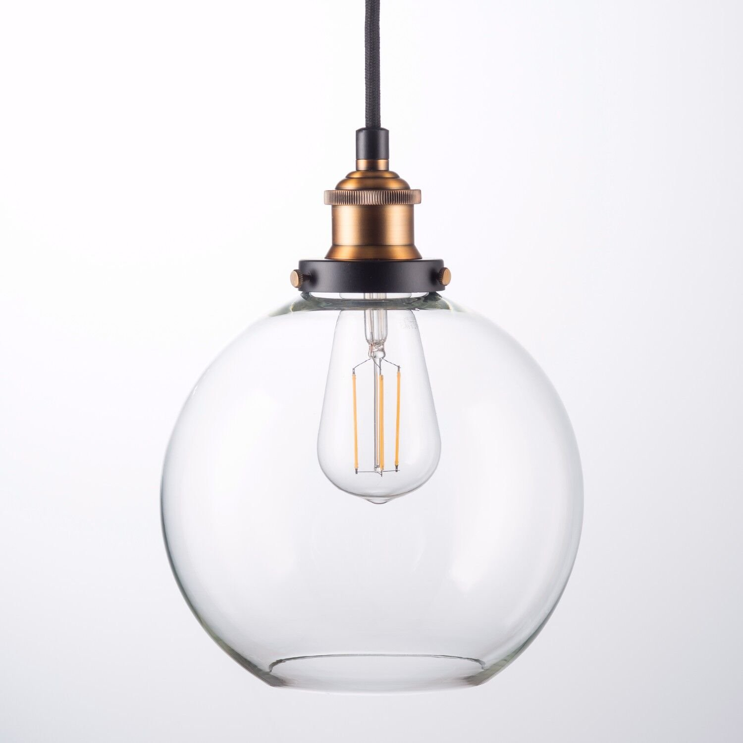 Primo Led Industrial Kitchen Pendant Light   Antique Brass Hanging Fixture   Linea Di Liara Ll P429 Led Ab by Linea Di Liara