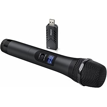 wireless microphone fifine usb microphone uhf handheld dynamic microphone with usb. Black Bedroom Furniture Sets. Home Design Ideas